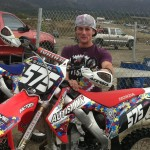 Chappy Fiene #575 riding for Josh Valencia